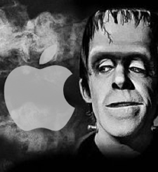 apple monster frankenstein